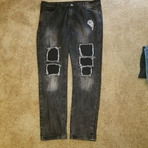 Embellish X Quincy Capsule Collection Jeans size40